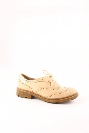 Tamaris Lace Shoes nude classic style