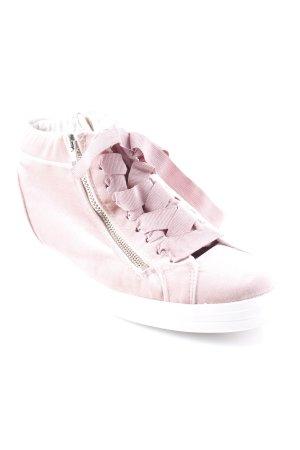 Tamaris Schnürschuhe rosa-weiß Elegant