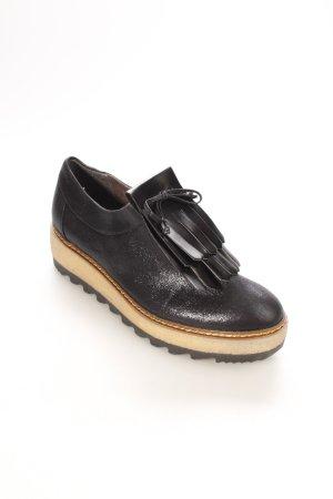 Tamaris Schnürschuhe schwarz extravaganter Stil