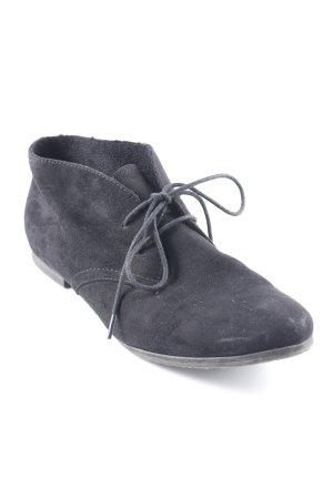 Tamaris Schnürschuhe schwarz schlichter Stil