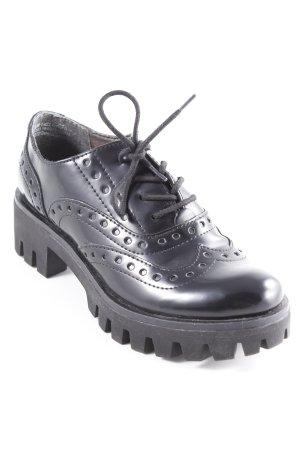 Tamaris Chaussures à lacets noir style urbain