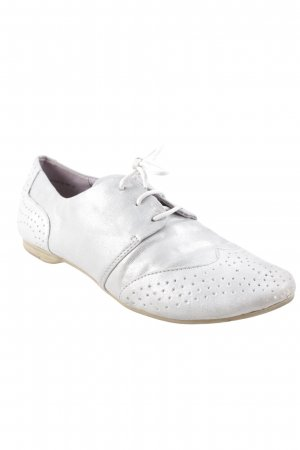 Tamaris Lace Shoes silver-colored casual look