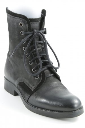 Tamaris Lace-up Boots black simple style