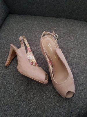 Tamaris Sandals grey brown