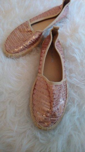 Tamaris Alpargatas color rosa dorado