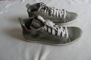Tamaris Schuhe Gr. 41 Grün Lamm Leder