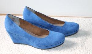 Tamaris Schuhe in strahlendem blau