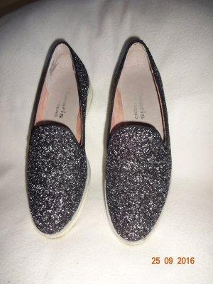 Tamaris Schuhe schwarz mit glitter