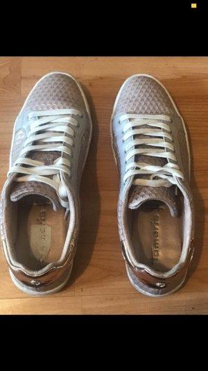 Tamaris Schuhe Sneakers Schnürschuhe rosa Rosegold 40