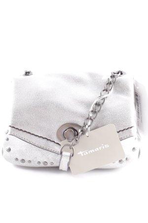 "Tamaris Shoulder Bag ""Pamela"" silver-colored"