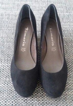 Tamaris schwarz Plateau Ballerina Gr.38
