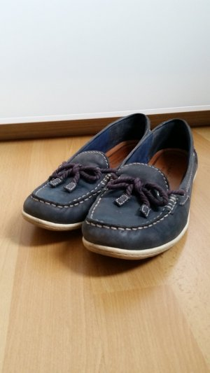 Tamaris Sailing Shoes white-dark blue