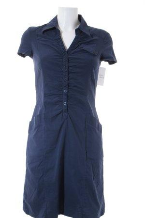 Tamaris Shirtkleid dunkelblau Casual-Look