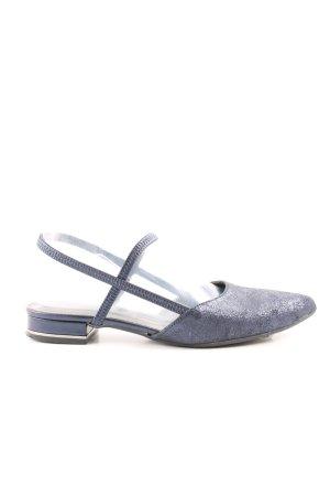 Tamaris Slingback Ballerinas blue business style