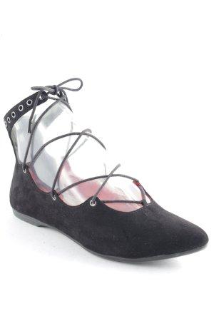 Tamaris Slingback Ballerinas schwarz Elegant