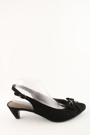 Tamaris Slingback pumps zwart casual uitstraling