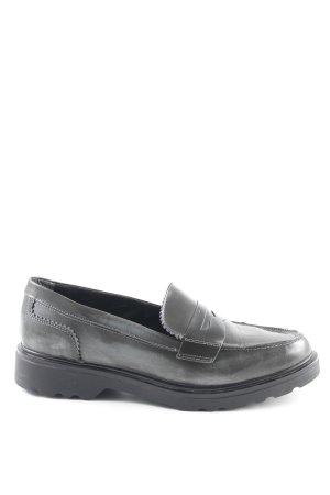 Tamaris Babouche gris anthracite style d'affaires