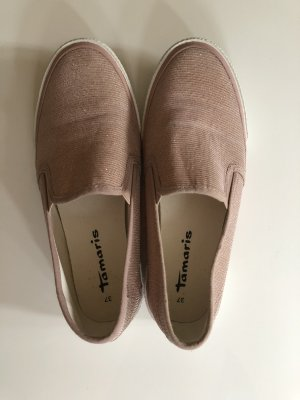 Tamaris Slippers rose-gold-coloured-white