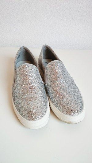 Tamaris Pantoffels zilver