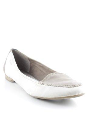 Tamaris Slipper grau-wollweiß klassischer Stil