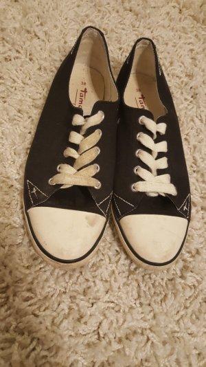 tamaris sneaker 38 schwarz weiß