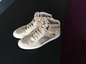 Tamaris Sneaker goldfarben Casual-Look