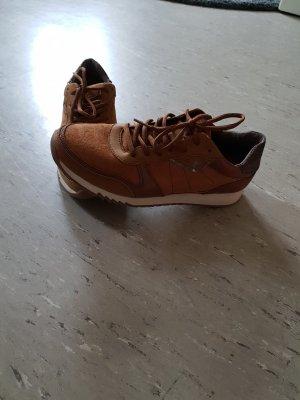 Tamaris Sneakers cognac-coloured