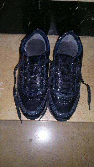 Tamaris Sneaker lack schwarz Gr 38