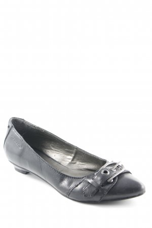 Tamaris Spangen-Pumps schwarz Casual-Look