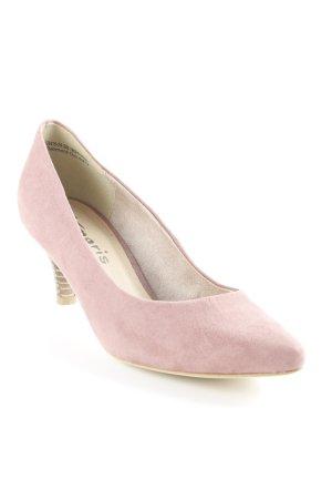 Tamaris Zapatos de punta malva elegante