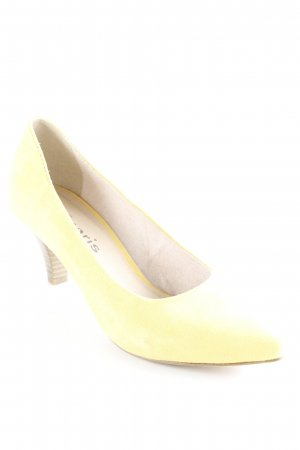 Tamaris Spitz-Pumps dunkelgelb Casual-Look