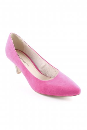 Tamaris Spitz-Pumps pink Party-Look