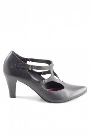 Tamaris Spitz-Pumps schwarz Casual-Look