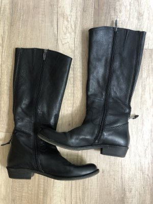 Tamaris Winter Boots black-silver-colored