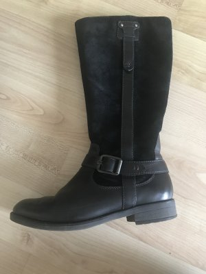 Tamaris Winter Boots black leather