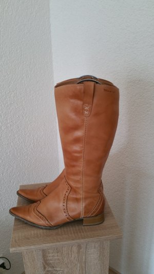 Tamaris Stiefel Gr 39 Echtleder neuwertig