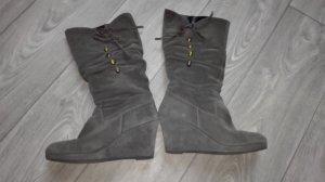Tamaris stiefel grösse 41 grau