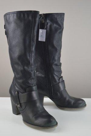 Tamaris Stiefel mit Nieten schwarz Größe 37
