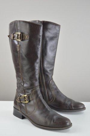 Tamaris Stiefel mit Schnallen braun Größe 38