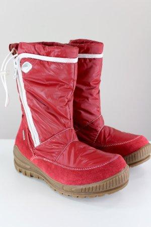 Tamaris Botas de nieve rojo neón
