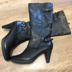 Tamaris Jackboots black leather