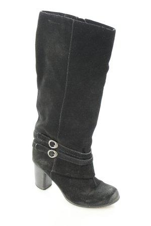 Tamaris Stiefel schwarz Casual-Look
