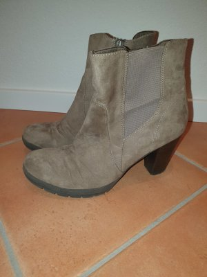 Tamaris Winter Booties grey brown