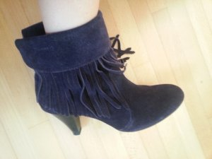 Tamaris Western Booties dark violet