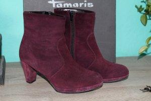 Tamaris Stiefelette Gr. 37 Viola