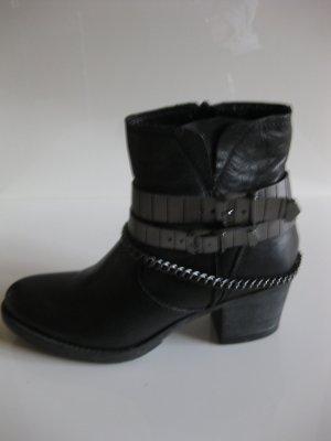 Tamaris - Stiefeletten - Biker Boots - Gr 38 - NEU