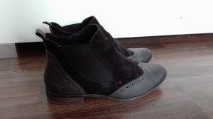 Tamaris Stiefeletten Chelsea Boots schwarz Gr. 37