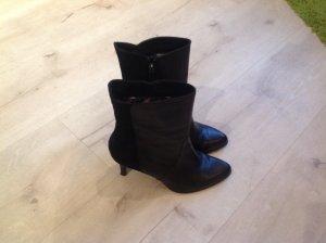 Tamaris Zipper Booties black leather