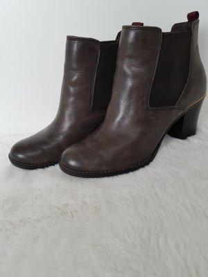 Tamaris Bottines à enfiler taupe-gris brun