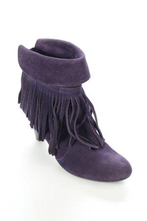 Tamaris Stiefeletten lila Street-Fashion-Look